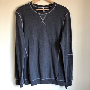 Lululemon men's All Town Crew Long Sleeve